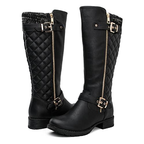 Women's Tall Black Boots: Amazon.c