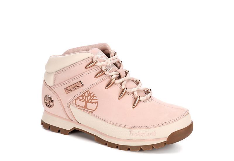 Pale Pink Timberland Womens Euro Hiker   Boots   Rack Room Sho