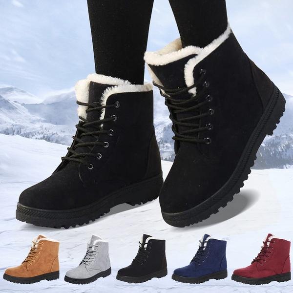Winter Women's Warm Snow Boots   Wi