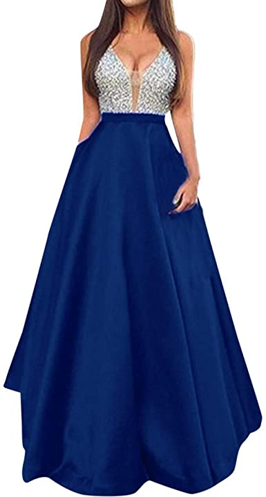 Amazon.com: Pandaie-Womens Dresses, Women Sleeveless V Neck .