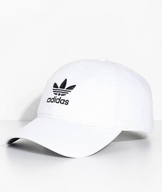 adidas Women's White Strapback Hat | Zumi