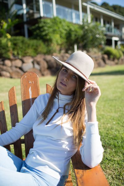 Bird and Feather Wool Hat | Hiking hats for women, Hats for women .