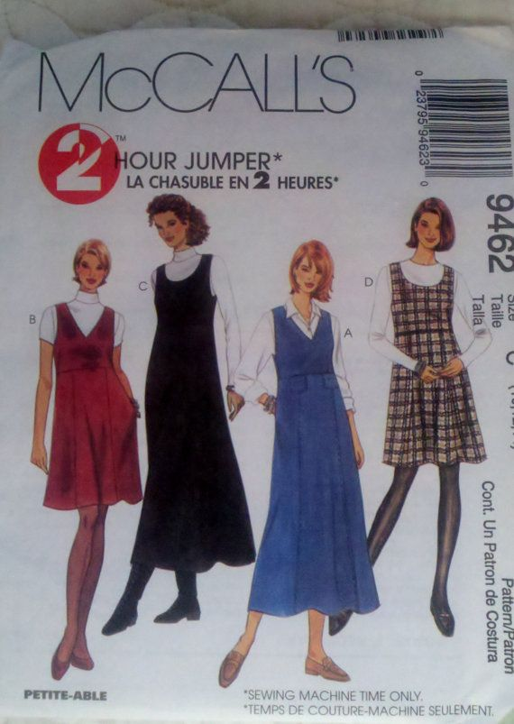 Womens Sewing Pattern Jumper in Two Lengths by Sutlerssundries .