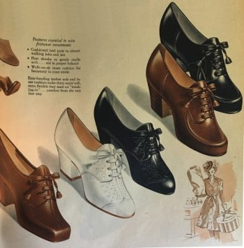 Vintage Inspired Oxford Shoes for Wom