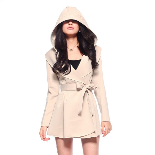 Womens Trench Coat with Hood | WardrobeMag.c