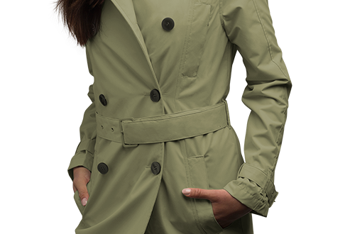 Women's Trench Coat - SCOTTeVE