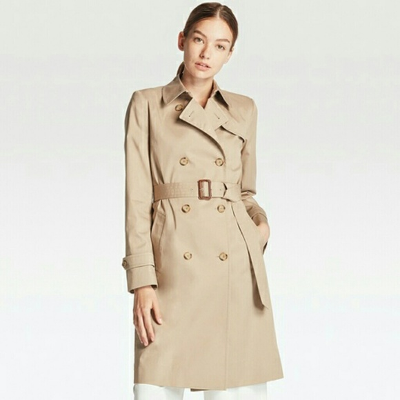 Uniqlo Jackets & Coats | Womens Trench Coat | Poshma