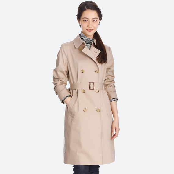 WOMEN Trench Coat - Jackets & Coats - OUTERWEAR - WOMEN | UNIQLO .