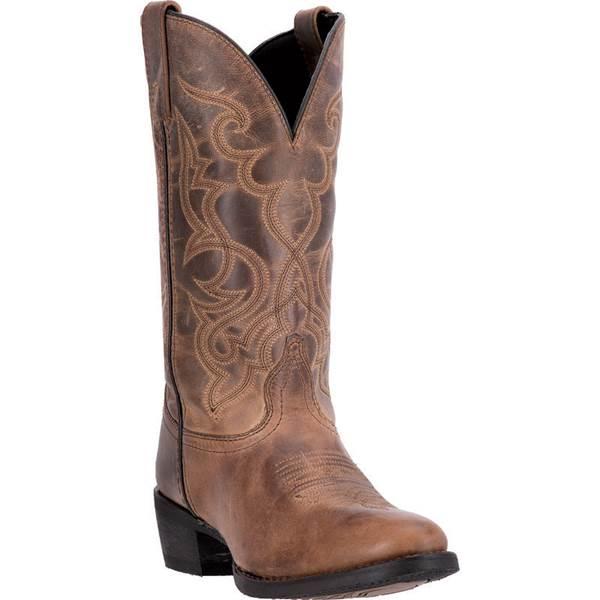 "Laredo Women's 11"" Maddie Distressed Western Boots - 51112-6.5 ."