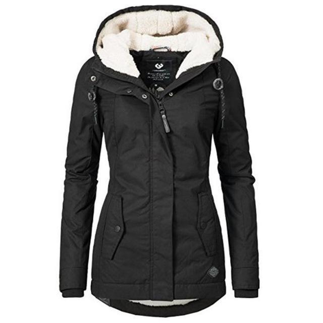 Women's Winter Coat – Solid Emper
