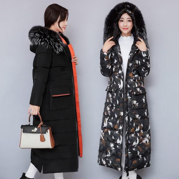 Buy Jacket Women 2017 Thick Warm Winter Coat Female Fur Collar .