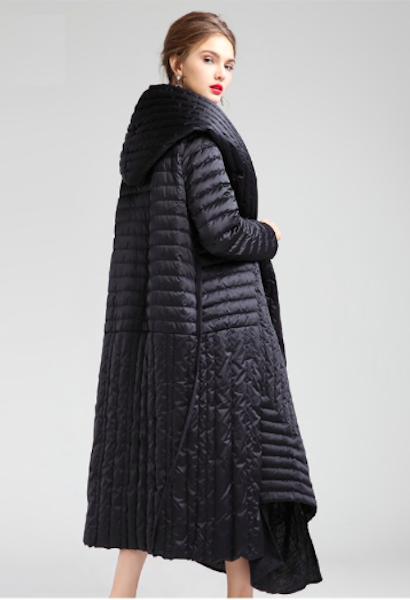 Duck Down Jacket Women Winter Outerwear Coats Female Long Casual .