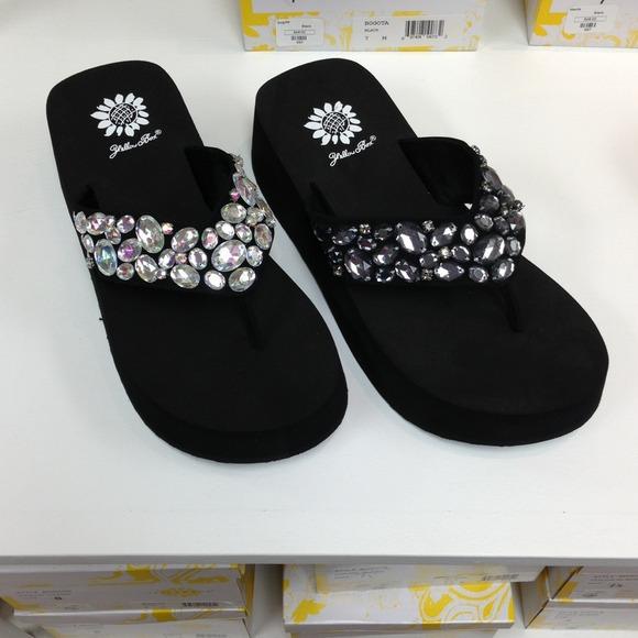 Yellow Box Shoes | Bogota Flip Flop Choose Color Size | Poshma