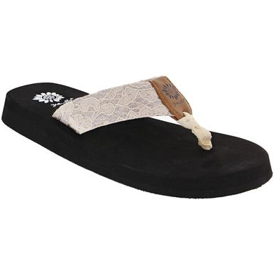 Yellow Box Amina | Women's Flip Flops | Rogan's Sho