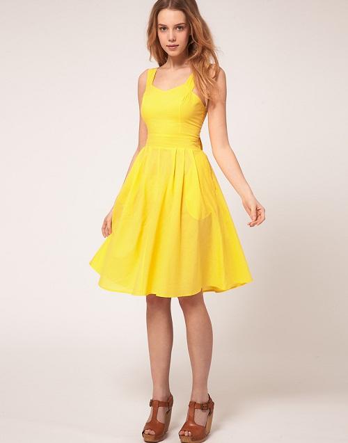 Yellow Sundress | DressedUpGirl.c