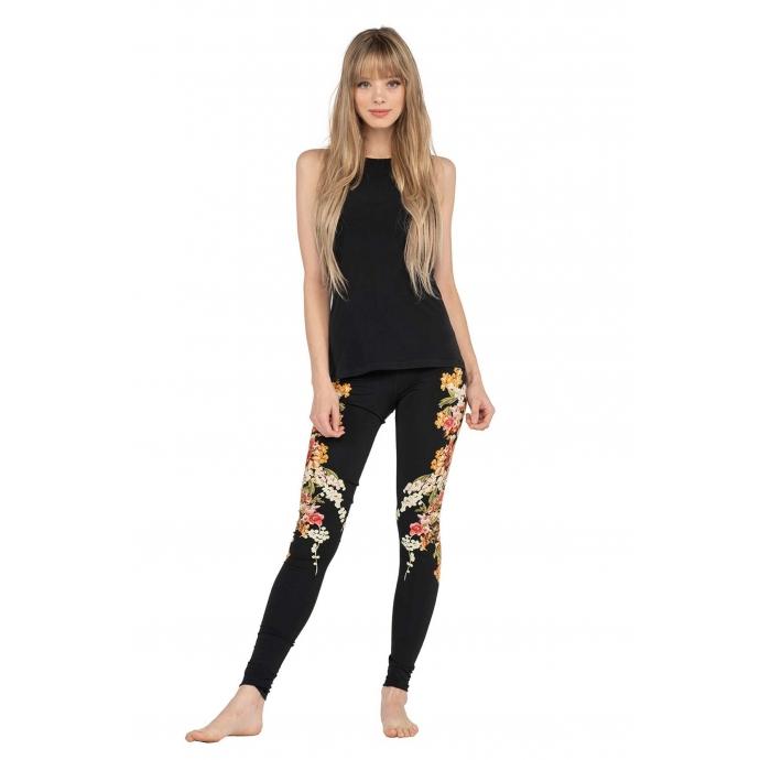 High Waist DBL Layered Yoga Pants - Eva Varro Women's Clothing and .